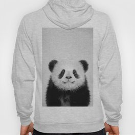 Panda Bear - Black & White Hoody