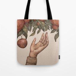 Apple Picking Tote Bag