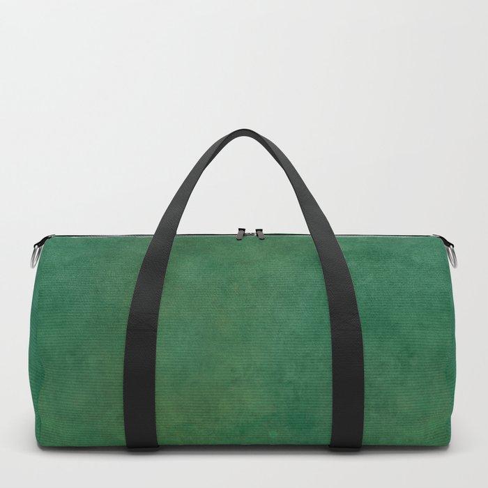 """Porstroke, Teal Shade Pattern"" Duffle Bag"