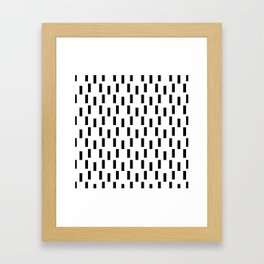 HOME TEXTILE MODERN DESIGN PATTERNS Framed Art Print