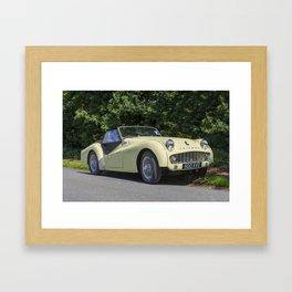 Triumph TR3 Framed Art Print