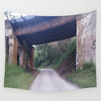 bridge Wall Tapestries featuring Bridge by NaturePrincess