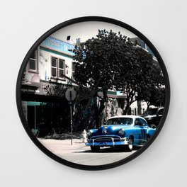 San Francisco Car Wall Clock