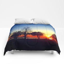 Happy in CLE Comforters