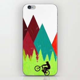 MTB Trails iPhone Skin