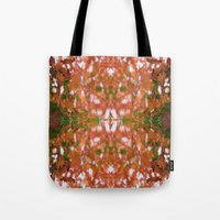hippie Tote Bags featuring HIPPIE by kelleyinthemorning
