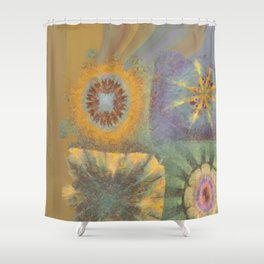 Constellate Incubus Flower  ID:16165-033300-38710 Shower Curtain