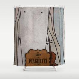 Piaghetti from Ixiom (Violin) Shower Curtain