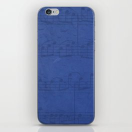 Sing Bluesky iPhone Skin