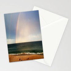 Beach Rainbow Stationery Cards