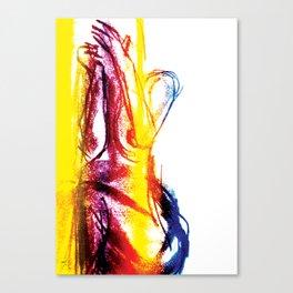 Sexy Ladies 01 Canvas Print