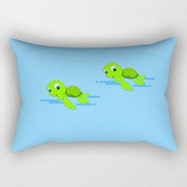Sea Turtle Rectangular Pillow