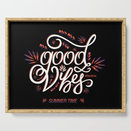 Good Vibes Summer Time Serving Tray