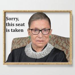 Ruth Bader Ginsburg Serving Tray
