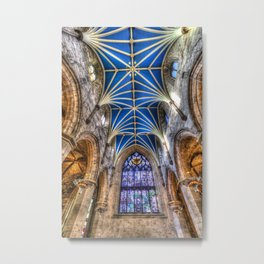 St Giles Cathedral Edinburgh Scotland Metal Print