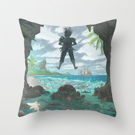 Pan - Storm Edition Throw Pillow