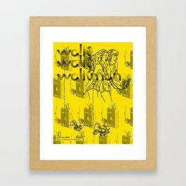 Bo Mak Calendar - July 1st Framed Art Print