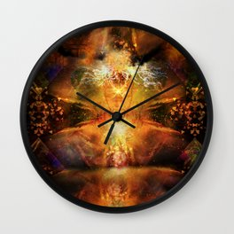 Visionary Insight Wall Clock