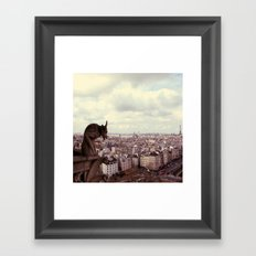 La Cite Framed Art Print