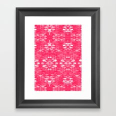 Flamingo land flip repeat, new colorway 5 Framed Art Print