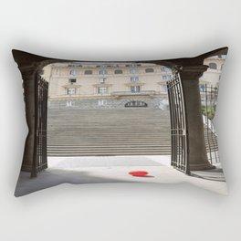 Red Ballon Rectangular Pillow