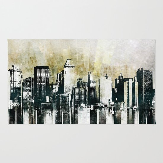 Music of The City Rug