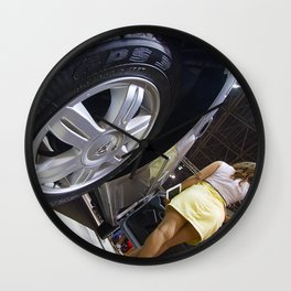 Renault Logan Expression Automatic Wheel Wall Clock