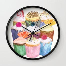 Cupcake Cluster Wall Clock