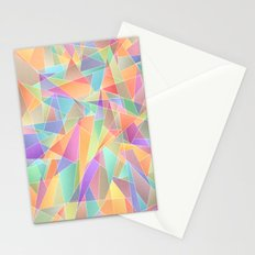 The Geometric Glass Shatter Stationery Cards