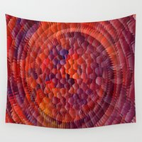 illusion Wall Tapestries featuring Illusion... by Cherie DeBevoise