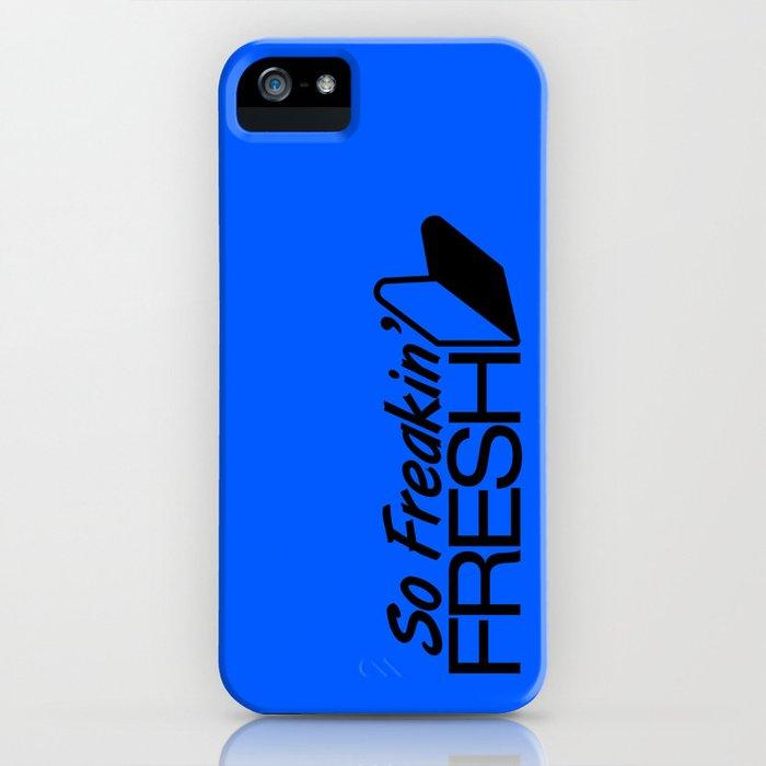 So Freakin' Fresh v5 HQvector iPhone Case