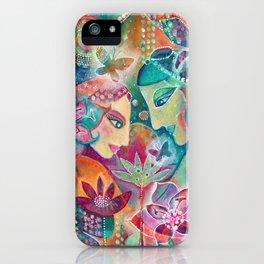 Divine Union by Justine Aldersey-Williams iPhone Case