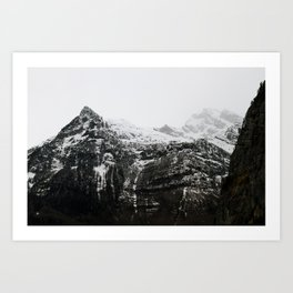 Swiss Alps - v3 Art Print
