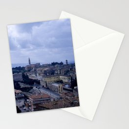 Vintage Color Photo * Perugia * Umbria * Italy * Kodachrome * 1950's Stationery Cards