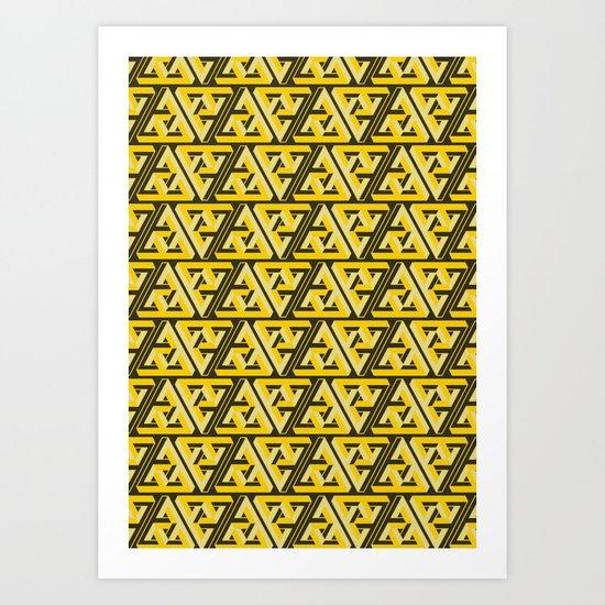 Impossible Trinity Art Print
