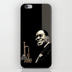 Louis Armstrong iPhone & iPod Skin