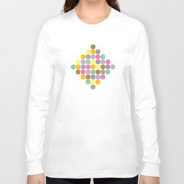 Candy Rounds Coal (white available too) Long Sleeve T-shirt