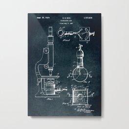1927 - Microscope Lamp Metal Print