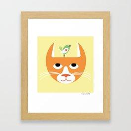 Kompisar Framed Art Print
