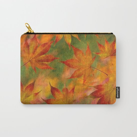 Falling Leaves - Autumn Carry-All Pouch
