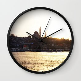 Istambul Wall Clock