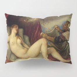 "Titian (Tiziano Vecelli) ""Danae receiving the Golden Rain"", 1553-1554 Pillow Sham"