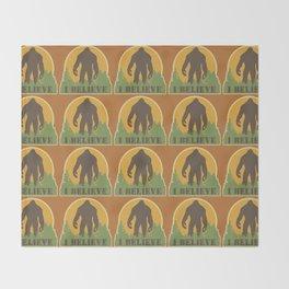 Bigfoot - I believe Throw Blanket