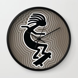 Board Rider Wall Clock