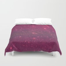 Pink Space Duvet Cover