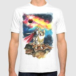 Corgi Galaxy T-shirt