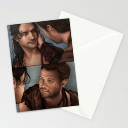 Nagron First Kiss (Spartacus) Color Version Stationery Cards