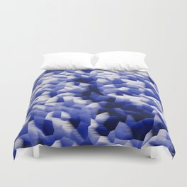 Blowing in the wind.... Duvet Cover
