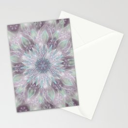 Lavender swirl pattern Stationery Cards