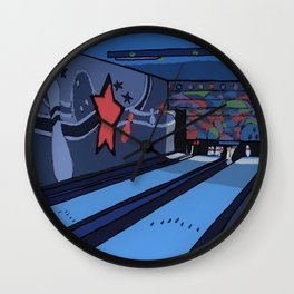 Bowling Alley Wall Clock